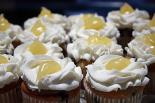 Blueberry Lemonade Cupcakes with Lemon Curd and Lemonade Icing