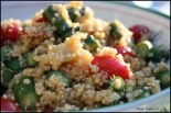 Quinoa with Fresh Asparagus and Tomatoes