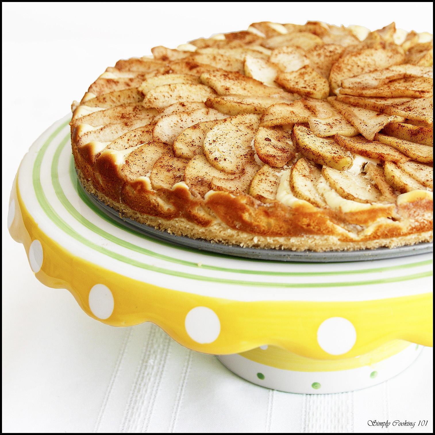 Bavarian Apple Cake Cream Cheese