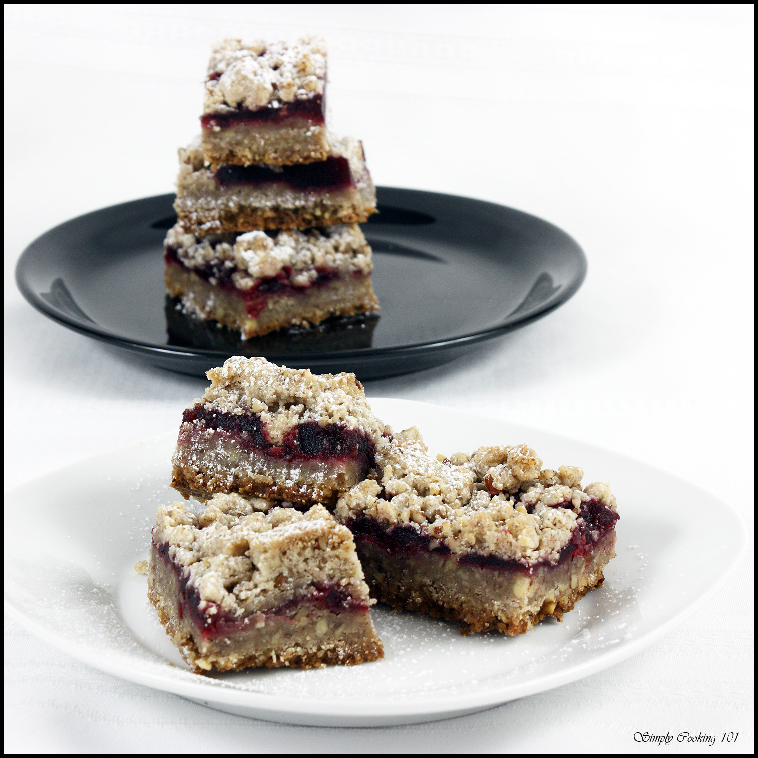Cranberry Cookie Bars: what to do with that leftover cranberry sauce ...